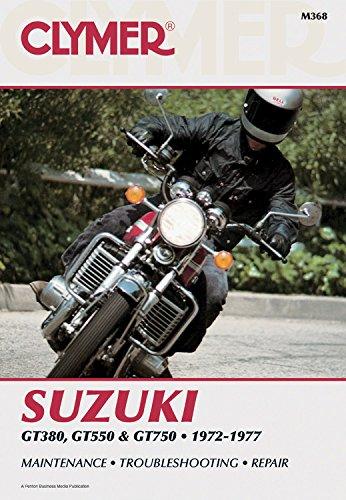 Clymer Suzuki GT380, GT550 & GT750cc Triples, 1972-1977: Maintenance, Troubleshooting, Repair (Clymer Motorcycle)