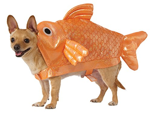 sc 1 st  Amazon.com & Amazon.com : Rubieu0027s Gold Fish Dog Costume : Pet Supplies