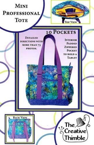 4f4a7a3b19da Image Unavailable. Image not available for. Color  The Creative Thimble - Mini  Professional Tote