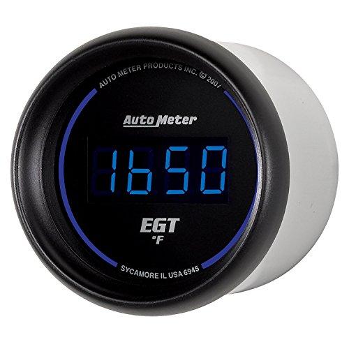 Auto Meter 6945 Cobalt Digital 2-1/16'' 0-2000 F Pyrometer E.G.T. (Exhaust Gas Temperature) by Auto Meter (Image #3)