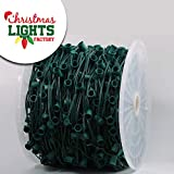 "CHRISTMAS LIGHTS FACTORY - C9-24"" Spacing- 1,000 FT"
