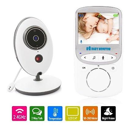 Las alarmas Clever LCD Pantalla Baby supervisión Baby ...