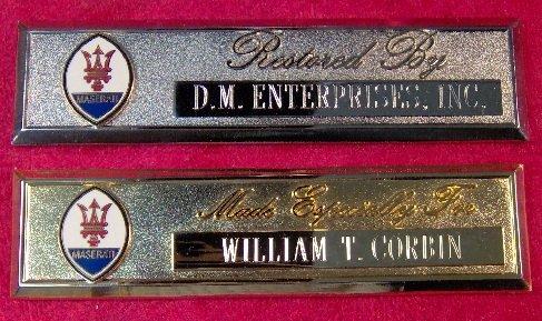 maserati-custom-engraved-dash-plaque