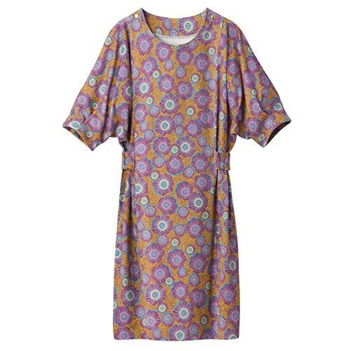 La Kleid Hinten Gelb Redoute Blumen Mit Collections Frau Gurtel Bedruckt r8r0Zfn