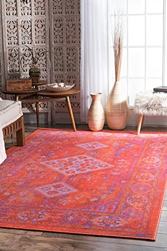 nuLOOM 200MCGZ30A-8010 Vintage Inell Area Rug, 8' x 10'