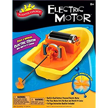 Simple electric motor kit 15 diy science for Simple toy motor project