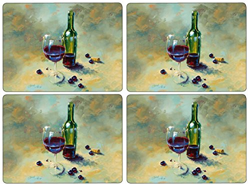 Pimpernel A Glass Half Full Placemats - Set of 4