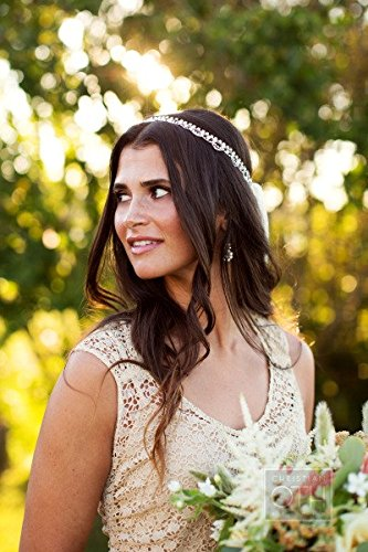 Amazoncom Wedding Headpiece Goddess Headpiece Chain Headpiece