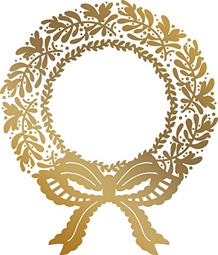 Artdeco Creations CO725576 Couture Creations Anna Griffin Hotfoil Stamp Christmas Wreath, Multi (Anna Scrapbook Griffin)