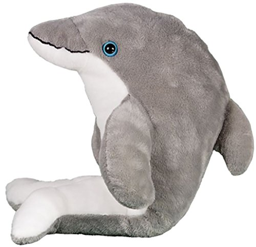 Cuddly Soft 16 inch Stuffed Bubbles The Dolphin - We Stuff 'em...You Love 'em! from Stuffems Toy Shop