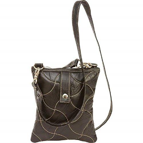 Embassy Italian Leather Handbag - Embassy Italian Stone Design Genuine Leather Purse