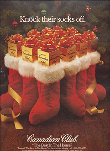 Canadian Club Knock Their Socks Off Holiday Stocking Scene ()