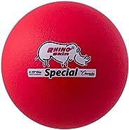Champion Sports RS85NRD Rhino Skin Special Ball, Neon Red