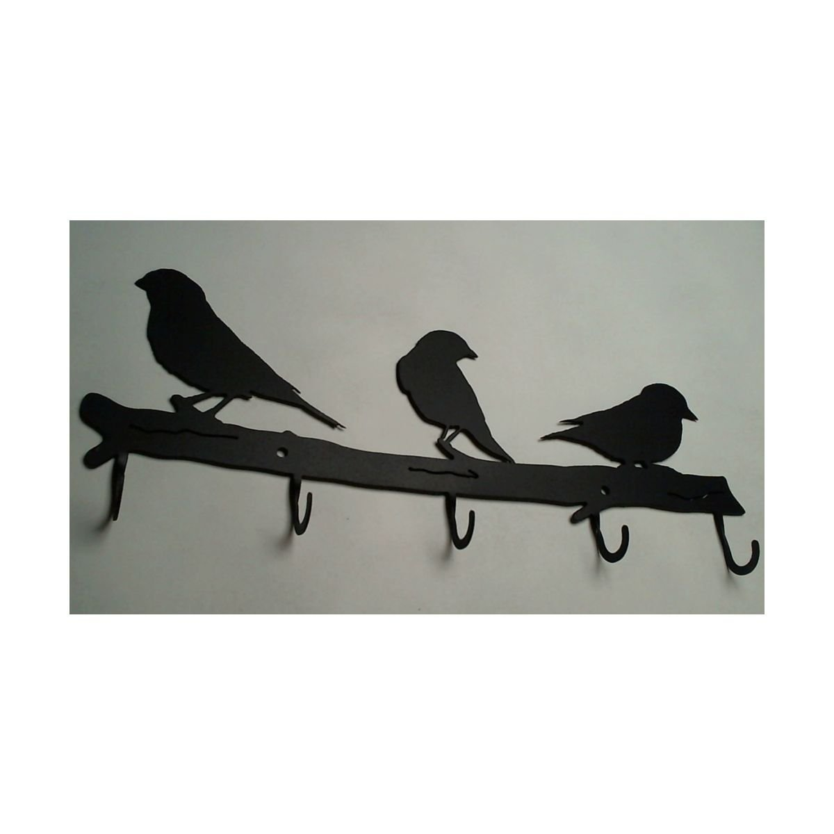 Cup/Mug Rack with hooks for Cups and Mugs, Birds on Limb