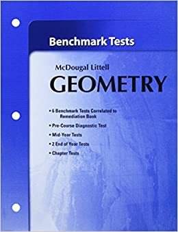 Holt mcdougal larson geometry benchmark tests larson holt mcdougal larson geometry benchmark tests larson 9780618736737 amazon books fandeluxe Images