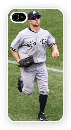 Brett Gardner New York Yankees Sports iPhone, iPhone 4 4S, Etui de téléphone mobile - encre brillant impression