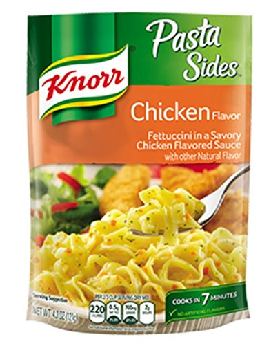 Knorr, Pasta Sides, Chicken Flavor 4.3oz Pouch (Pack of 6)