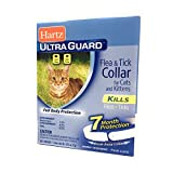 Flea Tick Collar for Cats and Kittens Water Resistant 7 Months Full Body Protection (1 Pack)