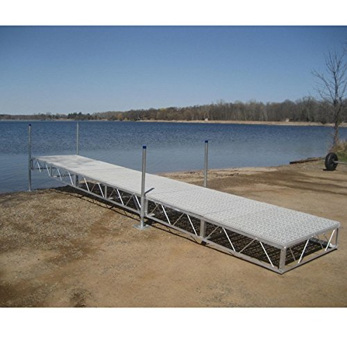 Patriot Docks (AMRP10501 * (16Ft) Patriot Docks Straight Sectional Dock With Poly Deck)