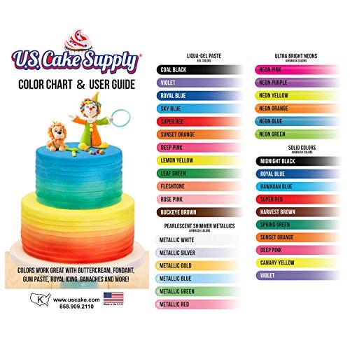 U.S. Cake Supply - Complete Cake Decorating Airbrush Kit ...