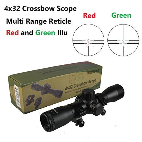Field Sport Archery 4X32 Crossbow Compact Multi Range Ret...