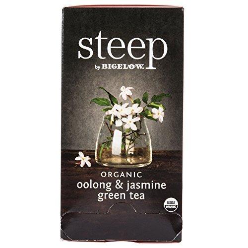 (Steep By Bigelow Organic Oolong and Jasmine Green Tea - 20/Box)