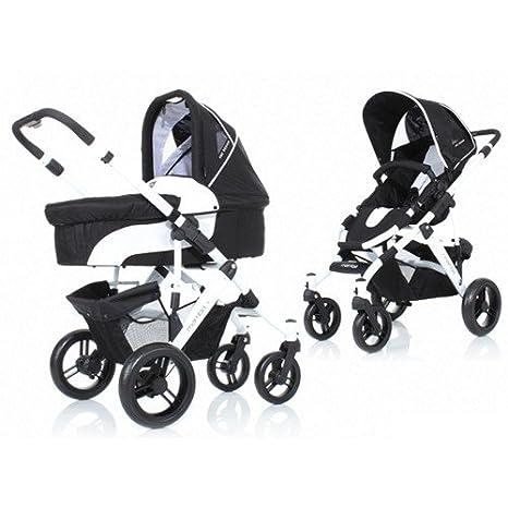 ABC Design Mamba cochecito y sillita Parent negro White/Black: Amazon.es: Bebé