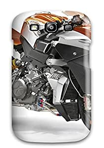 ElsieJM Case Cover For Galaxy S3 - Retailer Packaging Coolest Motorcycles Concept Protective Case