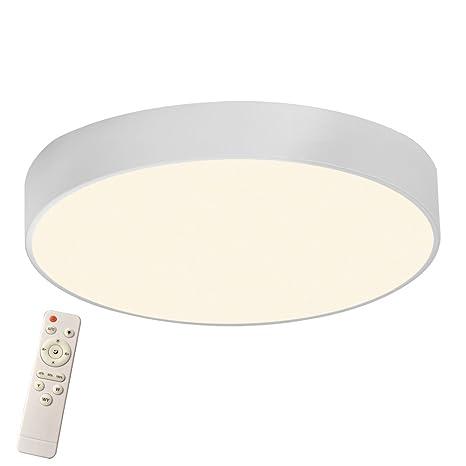 LED Deckenleuchte Wohnzimmer Dimmbar Deckenlampe Design Wandlampe Küche IP44