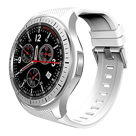 Amazon.com: MAUBHYA DOMINO DM368 3G Smartwatch (White): MP3 ...