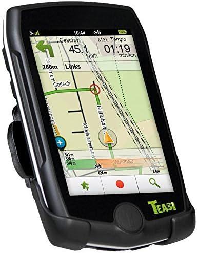 Teasi Pro - GPS para Bicicleta (Incluye Banda torácica, Soporte y Cargador USB)