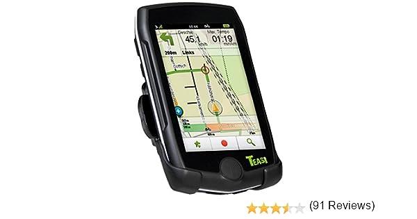 Teasi Pro - GPS para Bicicleta (Incluye Banda torácica, Soporte y ...