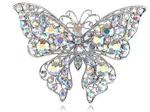 Vintage Butterfly Pin Brooch - 5