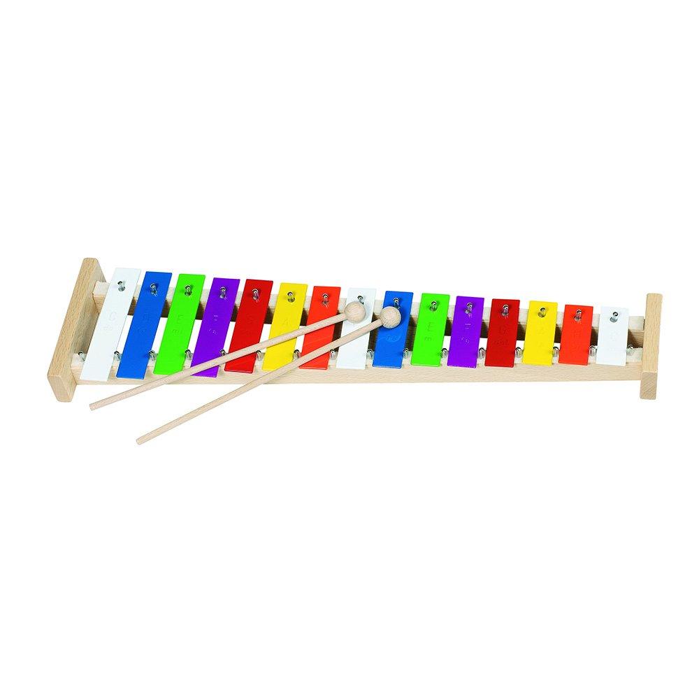 Goki 61998 - Musikinstrument - Xylophon mit 15 Tönen Gollnest & Kiesel 1016171 Musikspielwaren