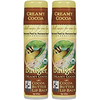 Badger - Certified Organic Cocoa Butter Lip Balm Stick Creamy Cocoa - 0.25 oz. (pack of 1) StriVectin LABS Nourishing Multivitamin Cream Age-Fighting Defense Treatment 1.7 Fl Oz.