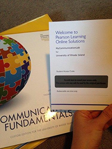 Communication Fundamentals - Communication Fundamentals (Textbook Binding)