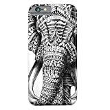 iPhone 6 Case, iPhone 6s Case, Forever Forever Young TPU Silicone Gel Soft Bumper Clear Case Cover for Iphone 6 6S (Elephant Nose)