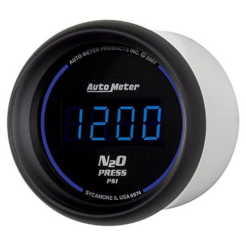 "Auto Meter 6974 Cobalt Digital 2-1/16"" 0-1600 PSI Nitrous Pressure Gauge"