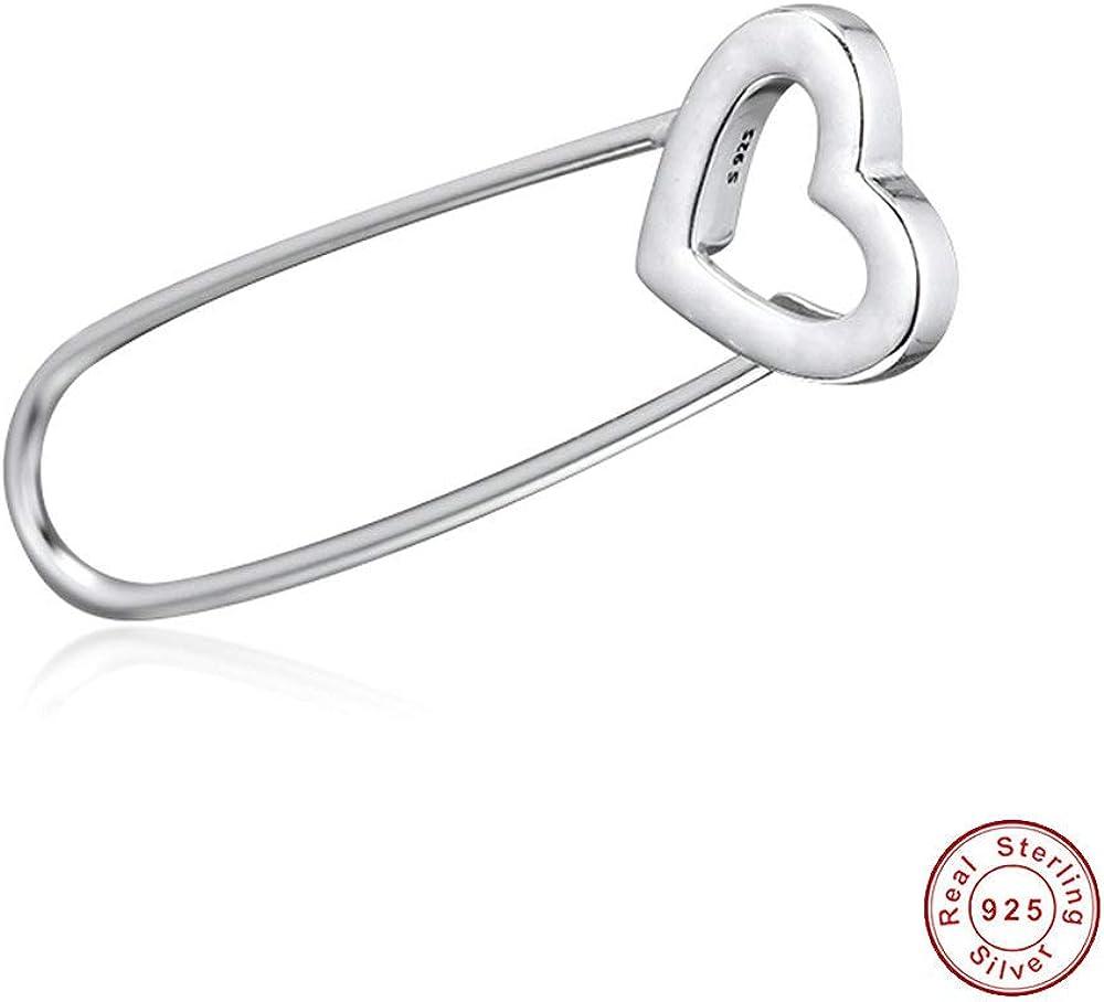 FUNSHOPP Broche épingle à nourrice en argent 925 pour bracelets Pandora  originaux