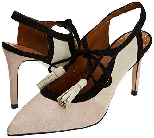Tacón nude Mujer Punta Miralles Con 18346 Zapatos Para Pedro De Cerrada Rosa Z7Iwq