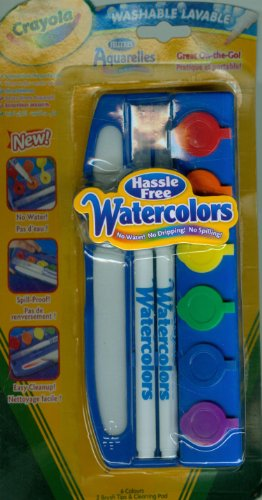 Crayola Hassle Free Water Color