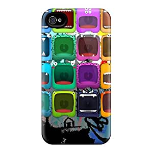 Great Cell-phone Hard Covers For Iphone 4/4s With Provide Private Custom Stylish Monster Image KerryParsons