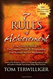 7 Rules of Achievement, Tom Terwilliger, 1600377378