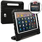 Samsung Galaxy Tab A 10.1 case for kids [SHOCK PROOF KIDS TAB 10.1 CASE] COOPER DYNAMO Kidproof Child Tab A 10.1 inch Cover | All Age Children | Kid Friendly Handle & Stand, Screen Protector (Black)