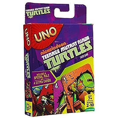 UNO - Teenage Mutant Ninja Turtles: Toys & Games