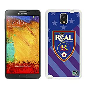 Real Salt Lake 01 White Customize Samsung Galaxy Note 3 Cover Case