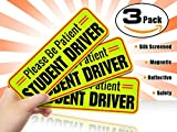Student Driver Magnet Car Signs for The Novice or