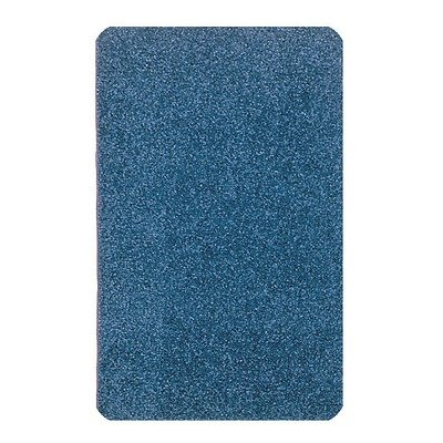 Carpets for Kids 2112.405 Solid Mt. St. Helens Kids Rug Size x x, 8'4 x 12', Blueberry