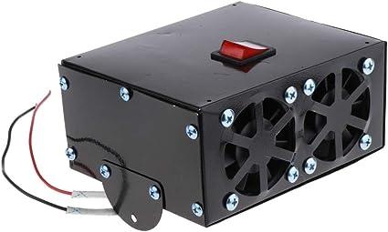 Calentador de ventilador 12V / 24V del coche del invierno parabrisas Antivaho descongelador soplador de aire caliente, para la práctica de auto-conducción Tours, viajes y camping,24v: Amazon.es: Coche y moto