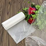 Nicesh 7 Gallon Kitchen Trash Can Liners, 75